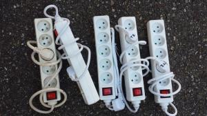 Multiprise 5 trous avec interrupteur