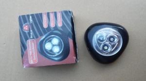 Lampe LED placard noir