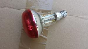 Ampoule rouge à vis