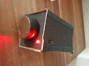 Caméra en carton à LED
