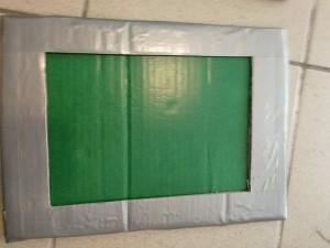 Faux écran vert