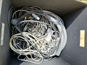 Lot diverse câbles pour déco